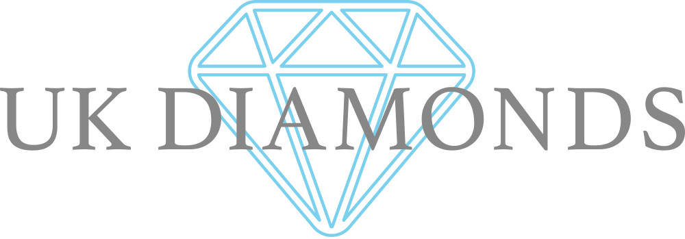 UK Diamonds Specialist UK - UK's exclusive diamonds specialist and expert diamond dealers based in Cardiff Wales - Ideal cut diamonds, Loose Diamonds for sale or certified diamond dealership - Diamond Rings, engagement rings, wedding rings, Diamond Neckla Logo